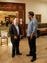 United Shades of America W. Kamau Bell talks with Kassem Allie, director of the Islamic Center of America in Dearborn--the largest mosque in America.