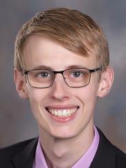 Brock Glaser, the son of Tom and Sarah Glaser of Evansville,