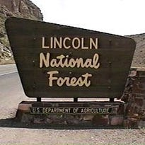Fire danger elevated to moderate in the Lincoln National Forest
