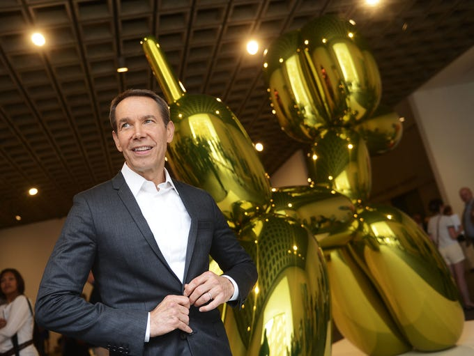 Jeff Koons, a York native and world-renowned artist,