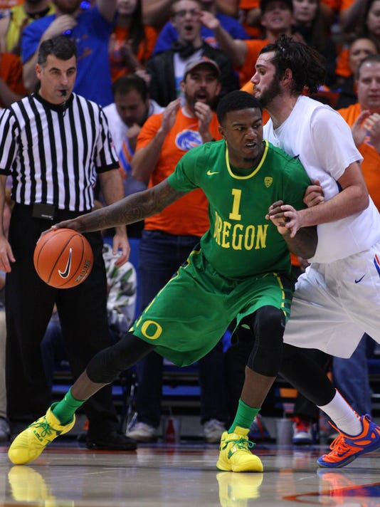 NCAA Basketball: Oregon at Boise State
