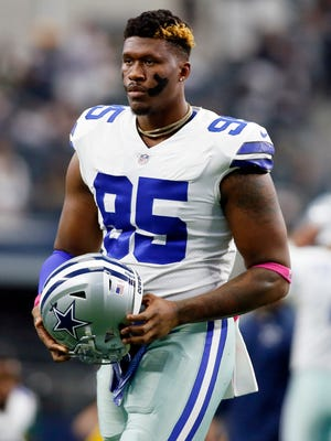 Cowboys defensive tackle David Irving.