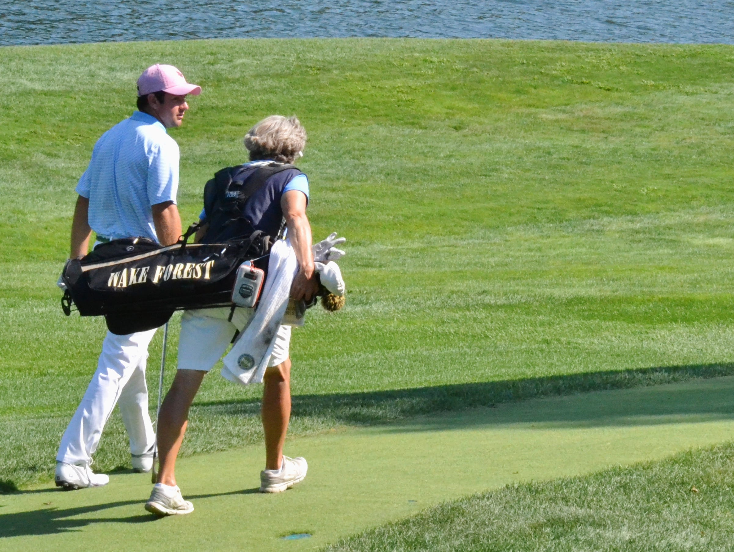 Cameron Young grew up playing at Sleepy Hollow Country Club where his father, David, is the longtime head pro. His mother, Barbara, often spends the summer caddying for the 19-year-old who won two collegiate tournaments last fall at Wake Forest University.