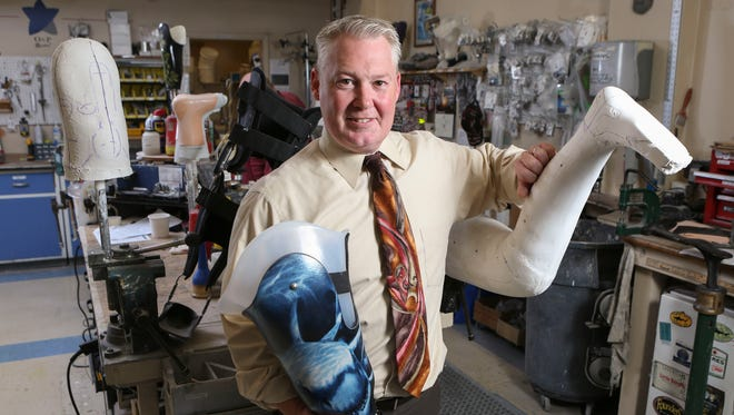 John Horne has grown Independence Prosthetics and Orthotics into Delaware's leading provider of artificial limbs, with five locations between Philadelphia and Dover.