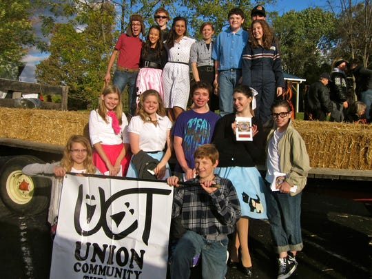 The cast of the Union Community Theatre's production