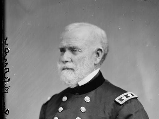 A Civil War-era portrait of Gen. William S. Harney,