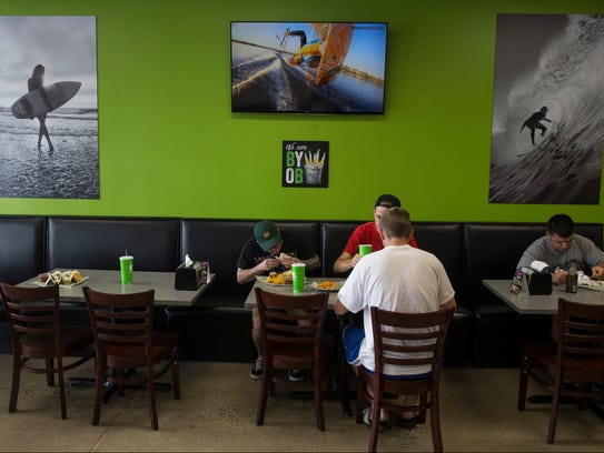 Bubbakoo's Burrito's, founded in Point Pleasant in