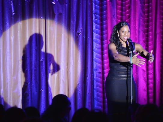 NEW YORK, NY - FEBRUARY 03:  Audra McDonald sings at