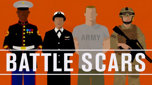 'Battle Scars,' hosted by Thom Tran, shares raw stories from recent war vets.
