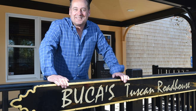 Martin Sadlemire, managing partner at Buca's Tuscan Roadhouse in Harwich, says the restaurant will continue offering takeout through the summer, but its dining room and bar are too small to achieve proper distancing to reopen safely.