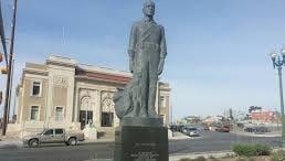 El Paso's Cavalryman statue.