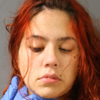 Dawn Elizabeth Greene, 24, is accused of biting her baby, striking him with an unknown object and throwing him to the ground.