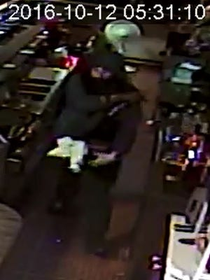 Carson City Sheriff's Office deputies responded to a report of a robbery at the Crossroads Lounge Wednesday, Oct. 12.
