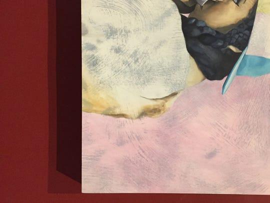 """Artist Natasha Giles' """"Incredible Bosco"""", acrylic on"""