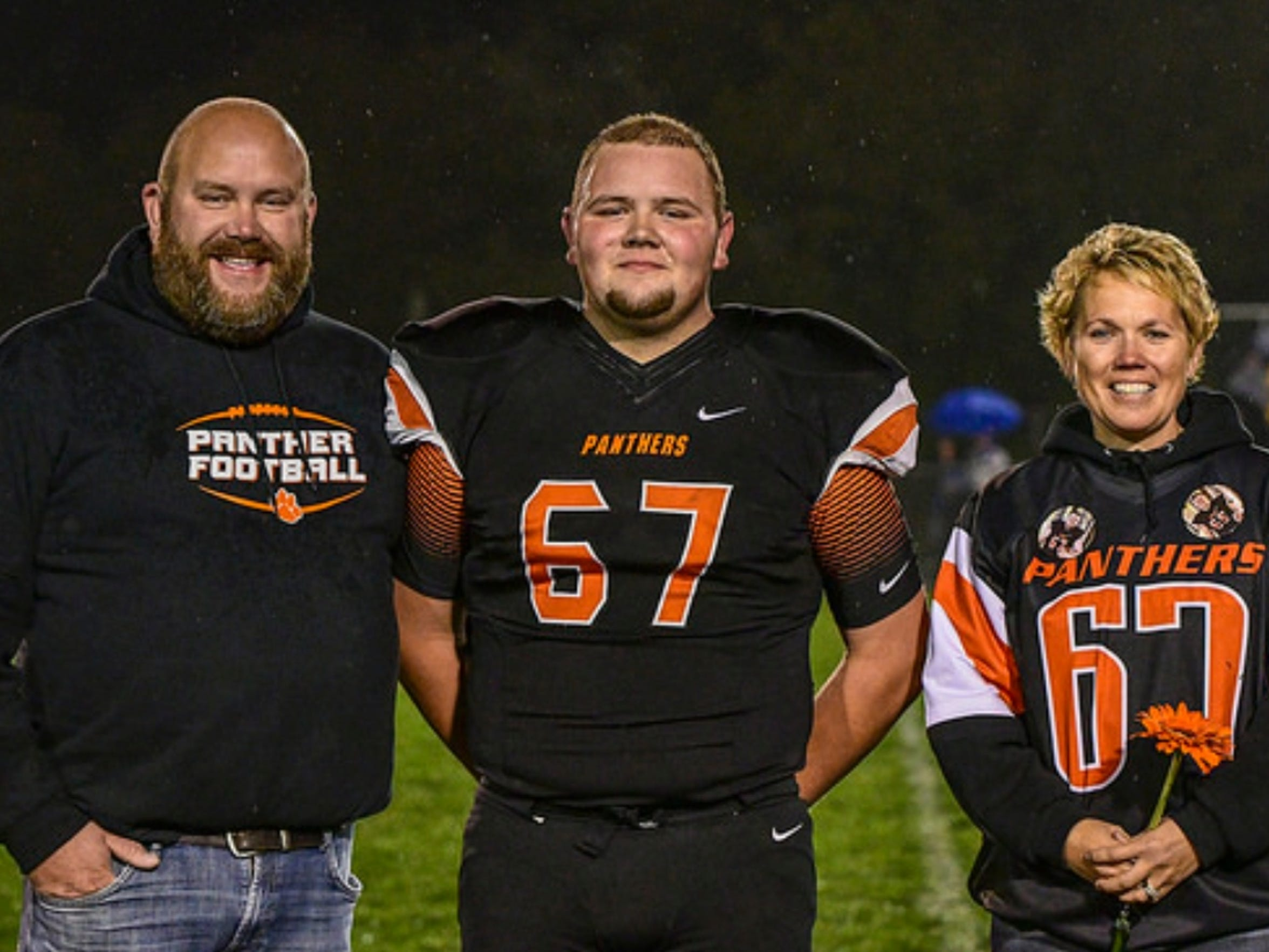 File photos from the Ladwig family of Bryce Ladwig.