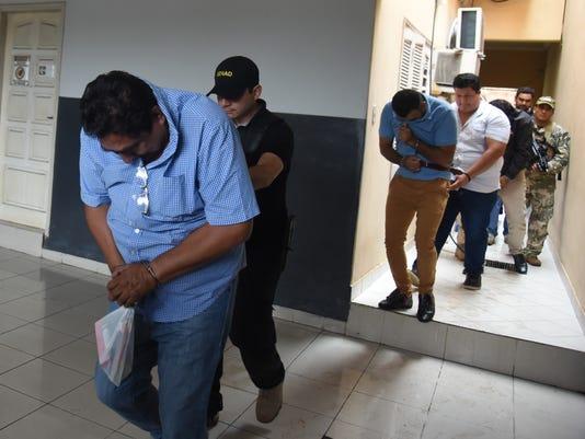 PARAGUAY-MEXICO-DRUGS-ARREST