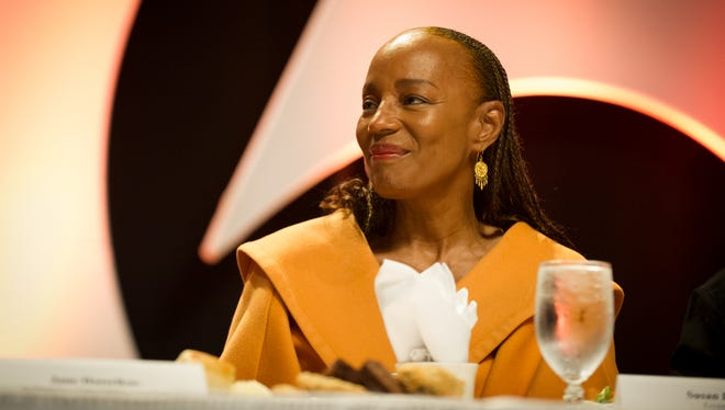 Susan L. Taylor, the former Editor-in-Chief of Essence magazine, was the keynote at the YWCA 7th annual Empowering Women Luncheon, held at the Rochester Riverside Convention Center.