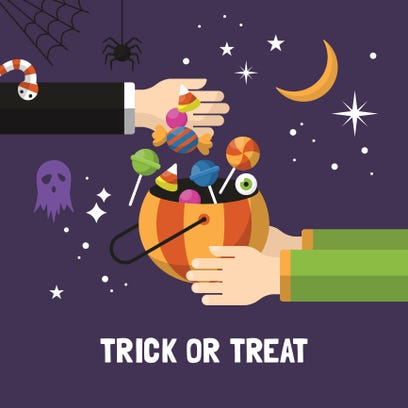 Check out times for trick or treating this Halloween!
