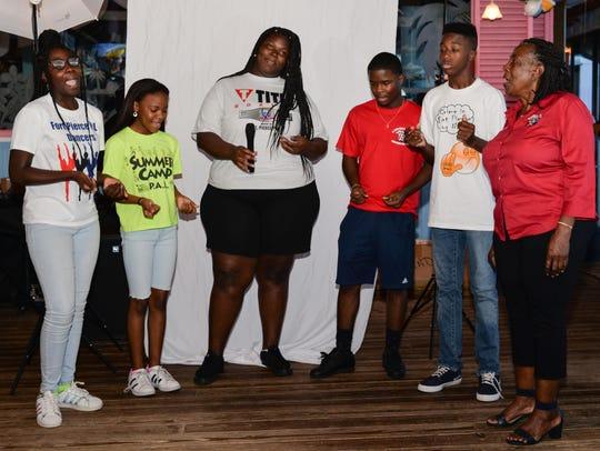 PAL Kids Adrielle Dampier, Zareyah Williams, Aaliyah