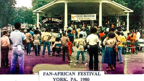 Jeff Kirkland posted this photo of the Pan-African Festival in York on Facebook.