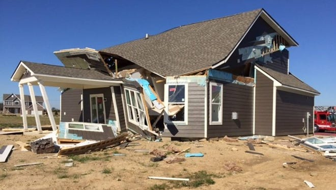 The Noblesville Fire Department responded to a natural gas explosion Sunday.
