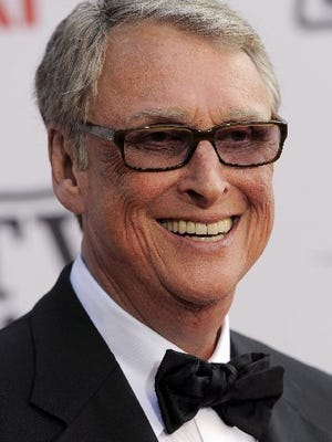 Director Mike Nichols arrives at the AFI Lifetime Achievement Awards honoring Mike Nichols, presented at Sony Pictures Studios on in this June 10, 2010, file photo. ABC News confirms director Mike Nichols and husband of Diane Sawyer died Wednesday, Nov. 19, 2014. He was 83.