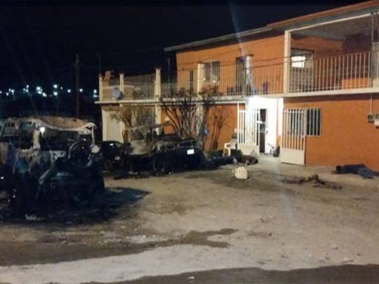 On Feb. 7 gun men killed five Juarez Valley men and wounded three people at a house located at 2121 Tabasco St. at Felipe Angeles Neighborhood
