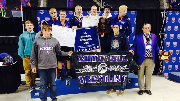 Mitchell won last February's NCHSAA 1-A tournament in Greensboro.