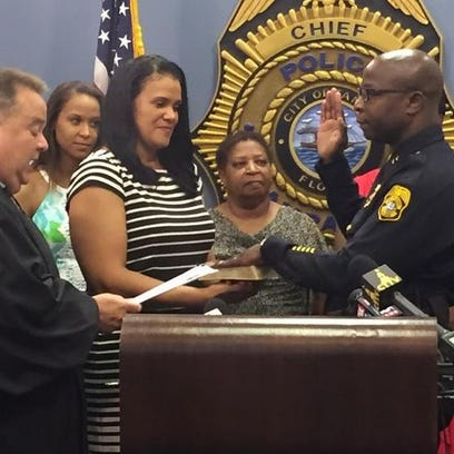 Eric Ward has taken the oath of office to become Tampa's