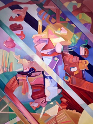 This January brings artist Nancie Gunkelman to the Plainsboro Library Gallery with a colorful collection of oil paintings.