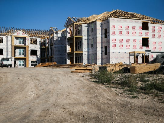 Construction continues at a new Zimmerman Properties