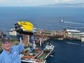 Steve Van Meter, a former NASA employee, works for VideoRay, a company that makes underwater radio-operated vehicles. He helped with the refloating of the Italian cruise ship Costa Concordia.