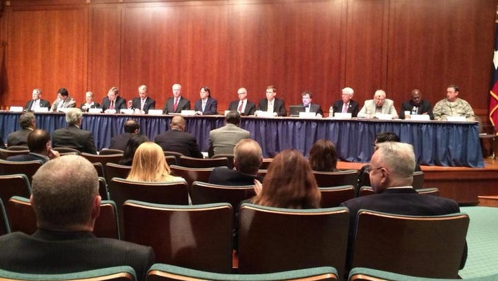 State task force on Ebola response convenes in Austin.