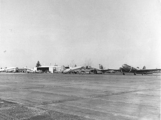 """Cape Coral had its own """"air force"""" in the early 1960s,"""