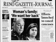 Gallery: RGJ front pages from Brianna Denison's disappearance