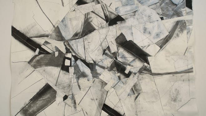 "Bridgewater College art instructor Eric Kniss will exhibit ""Recent Works: Sculpture and Drawing"" in the Cleo Driver Miller Art Gallery. The exhibit consists of graphite and mixed-media drawings and kaolin installations."