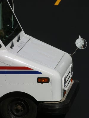 Postal delivery truck