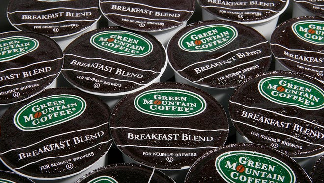 K-cups  made by Green Mountain Coffee Roasters.