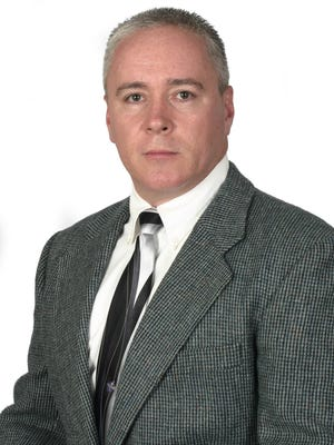 Detective lieutenant Rob Allen was promoted to first lieutenant and commander of the Sault Ste. Marie Post.