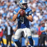 The Lions must not reign in Matthew Stafford too much.