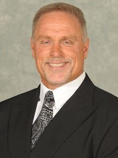 Mike Conway, head football coach at North Park University in Chicago, Ill, is on Guam to recruit football players.