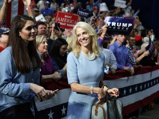 Hope Hicks,Kellyanne Conway