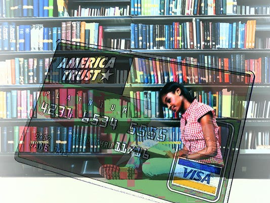 DFP Tompor College credit cards ILLUSTRATION PRESTO