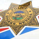 Sparks emergency responders are searching for a boy who may have gone under water at the Sparks Marina on Sunday, according to a release.