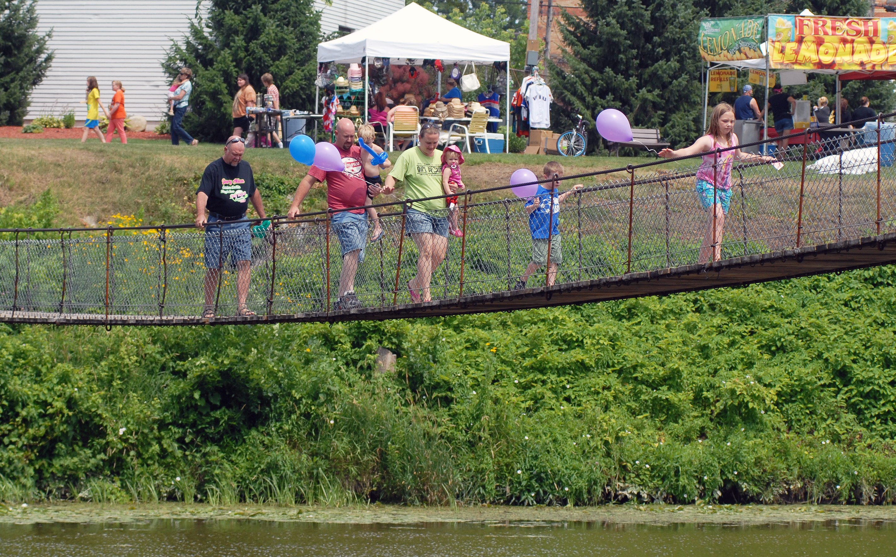 Croswell Swinging Bridge Festival