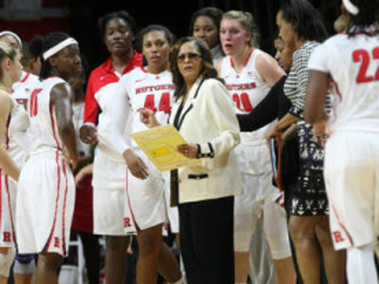 C. Vivian Stringer has terms of a multi-year deal in place that will allow her to continue her 19-year tenure as Rutgers women's basketball coach. (Jason Towlen/MyCentralJersey.com)