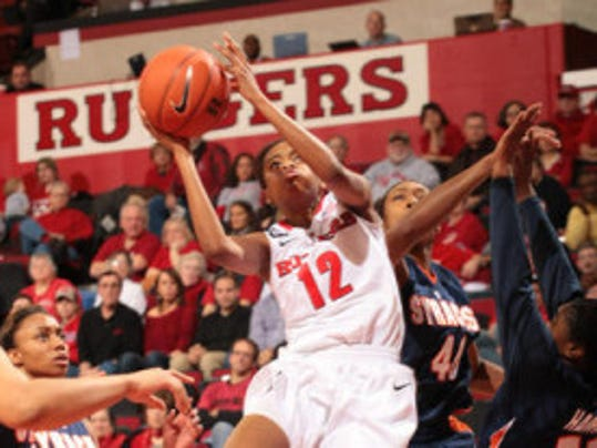 Former Rutgers guard Daisha Simmons, who transferred to Alabama, is likely coming back home to play for either Seton Hall or St. John's for one season. (MyCentralJersey.com file photo)