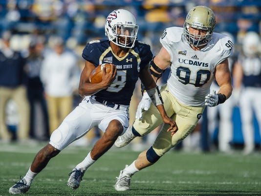 NCAA Football - Montana State vs UC Davis