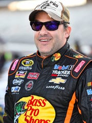 NASCAR Sprint Cup Series driver Tony Stewart during