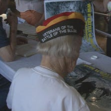 39 veterans of the Battle of the Bulge were honored in Columbia on Sunday and signed autographs for residents